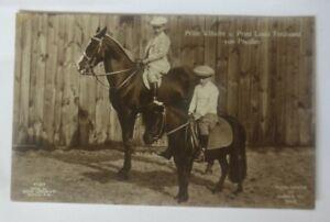 Adel, Prinz Wilhelm u. Prinz Louis Ferdinand von Preußen,  1900  ♥ (70226)