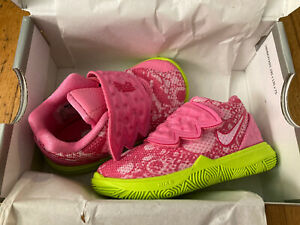 Nike-Kyrie-5-SBSP-PATRICK-Pink-Toddler-Shoes-Size-3C-NEW-IN-BOX