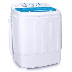 BCP-Portable-Mini-Washing-Machine-amp-Spin-Cycle-w-Hose-13lbs-Capacity