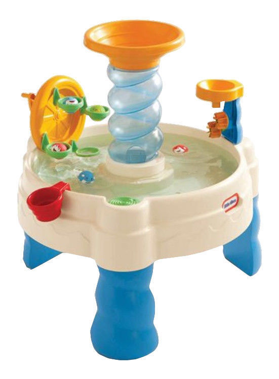 LITTLE TIKES SPIRALIN WATERPARK WATERPARK WATERPARK OUTDOOR WATER TABLE 2 YEARS AND UP NEW IN BOX 99bd87