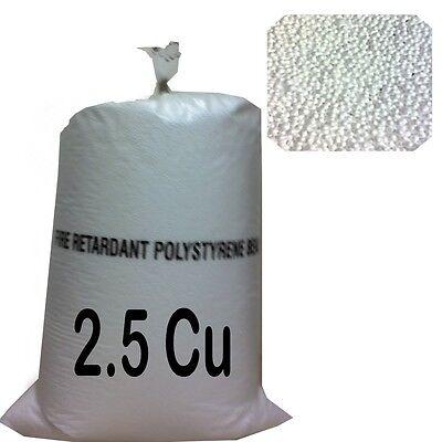 2 5cu Foot Bean Bag Refill Polystyrene Beads Filling Topup