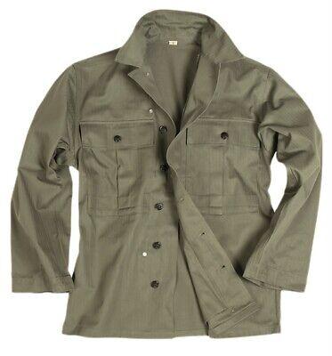 Us Army Hbt Wwii Field Shirt (repro) Campo Vintage Camicia Camicia Campo Giacca M/medium-mostra Il Titolo Originale