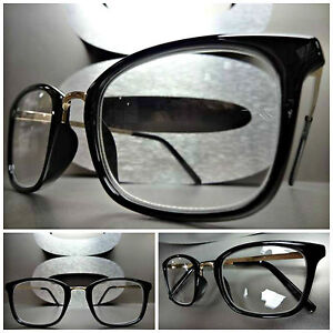 Mens Black Frame Reading Glasses : Mens or Women VINTAGE RETRO Style READING EYE GLASSES ...