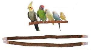 100% naturel Arbre Bois Petit oiseau en cage Perche Perruches une perruches canaris Finch-afficher le titre d`origine HwGWn7t9-07211519-154128068