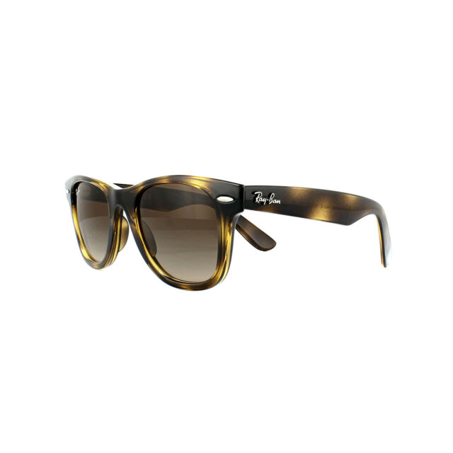 1045343287e Ray-Ban Junior Sunglasses New Wayfarer Junior 9066S 152 13 Tortoise Brown B-