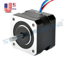 Dual Shaft Nema 17 Stepper Motor 26ncm368ozin 04a 34mm 4 Wires 3d Printer