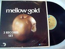 Various Sessions Mellow Gold 3 LP (Abba Rascals Association Harry Nilsson) VG/VG