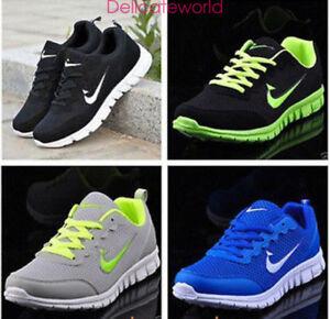 Zapatillas-para-hombre-y-mujeres-Deportes-Correr-Gimnasio-Tamano-UK5-5-11-5-en-el-aliento-Zapatos