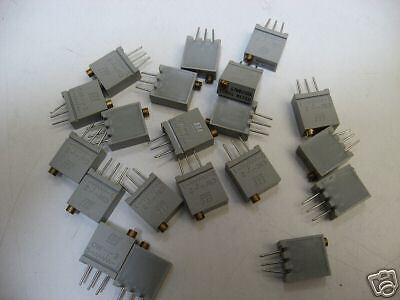 10 Trimmers multitours  67XR  100K  de chez BI Technologies