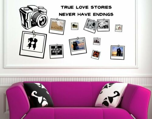 Outstanding Love Friendship Family memory photo album wall stickers high quality