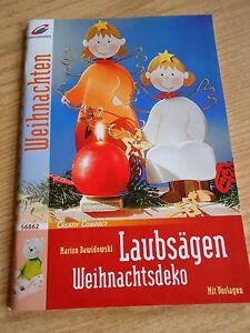 Details Zu Bastelbuch Laubsägen Weihnachten Deko Basteln Handarbeit Neu