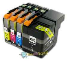 4 LC125XL / LC129XL Ink Cartridge Set For Brother Printer MFCJ6920DW non-OEM
