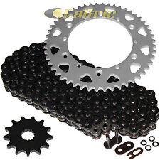 Black O-Ring Drive Chain & Sprockets Kit Fits YAMAHA YZ125 1987 1993 94 95 1996