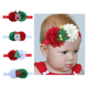 Headband-Hair-Bands-Children-Accessories-Baby-Flower-Headwear-Christmas-G-SE