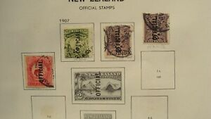 NEW ZEALAND OFFICIAL STAMP LOT