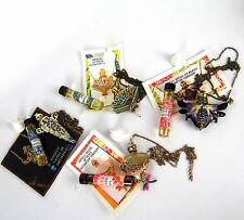 Perfume Oil Vial ANGELIC Vessel Holder Fragrance Necklace Pendant Chain LOT