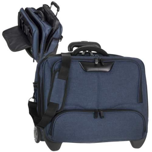 """Dermata Business Laptop Notebook Reise Piloten Trolley Koffer XL 17/"""""""