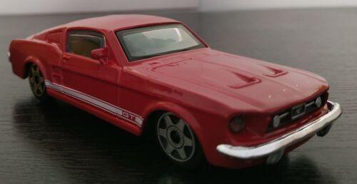 1//43 FORD MUSTANG GT 1964 CLASICO COCHE DE METAL A ESCALA COLECCION DIE CAST