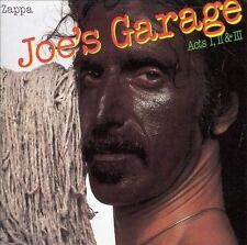 Frank Zappa: Joe's Garage: Act 1, 2 & 3 1987 RYKO 2 Disc Set