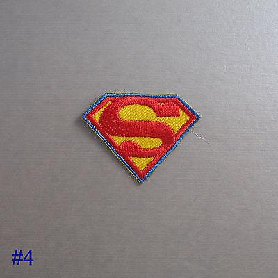 Superhero Iron On/ Sew On Cloth Patch Badge Appliqué cosplay comic TV movie film