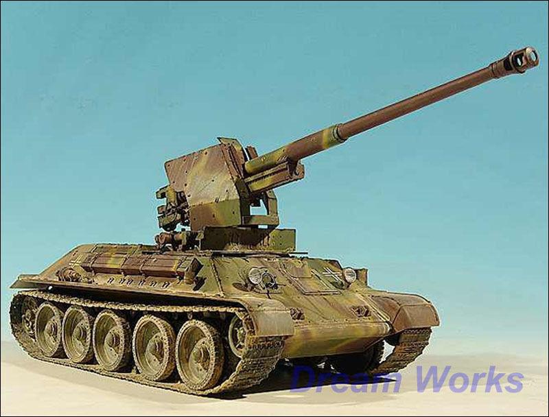 Ganador  Ryu   AFV 1  35 prisionegro alemán T - 34   76, calibre 88 mm
