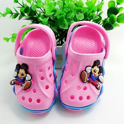 New boys girls Sport Clogs sandals kids youth shoes fit for Jibbitz shoe Charms
