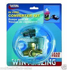 Valterra RV Campers Lead Free Converter RV Pump RV Winterizing Kit Trailer Parts