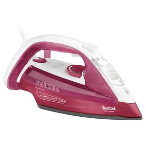 Tefal-FV-4920-Ultragliss-Dampfbuegeleisen-weiss-rot