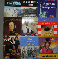 Social Studies Leveled Readers United States History 9 Books 5th Grade Level 5