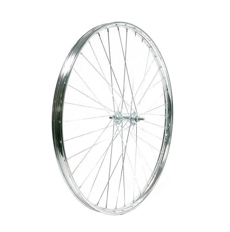 Rueda delantera r 26x1-1 2 acero cromado  R26RA112 RIDEWILL BIKE Bicicleta  amazing colorways