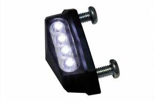Luce-targa-a-4-Led-mod-QUADRO-in-alluminio-anodizzato-nero