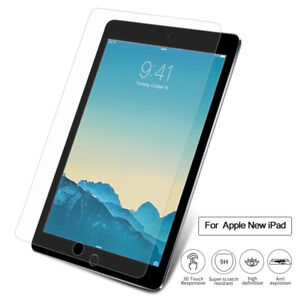 2-pack Premium 9H HD Tempered Glass Screen Protector For iPad 9.7 2018 6th Gen