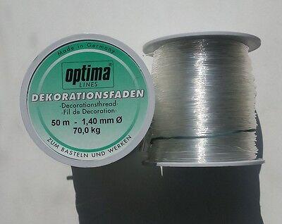 Hilo perlonfaden joyas hilo 0,6mm transparente DIY Crystal thread c139
