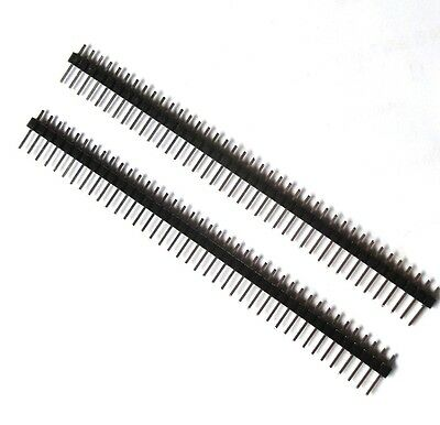 10PCS 40Pin 2.54mm Single Row Straight Male Pin Header Strip PBC for Ardunio