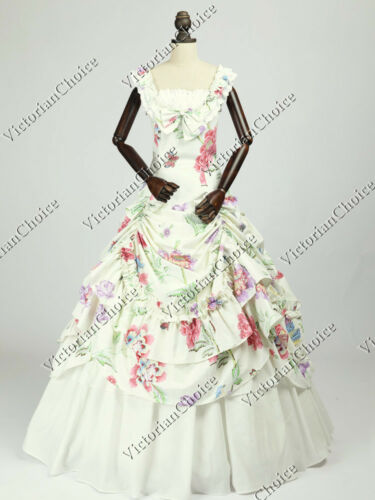 Victorian Dresses | Victorian Ballgowns | Victorian Clothing    Victorian Civil War Fantasy Fairytale Ball Gown Bridesmaid Princess Dress N 081 $165.00 AT vintagedancer.com