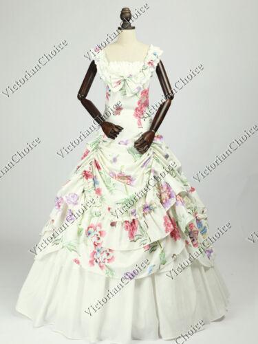 Victorian Civil War Fairytale Prom Gown Bridesmaid Dress Princess Theater 081