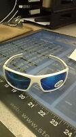 Stihl White Ice Protective Safety Glasses 99% Uv White Frame 7010 884 0366