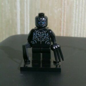 Discipliné Minifigs Minifigurine Lego Armored Super Heroes Figurine Griffe Activation De La Circulation Sanguine Et Renforcement Des Nerfs Et Des Os