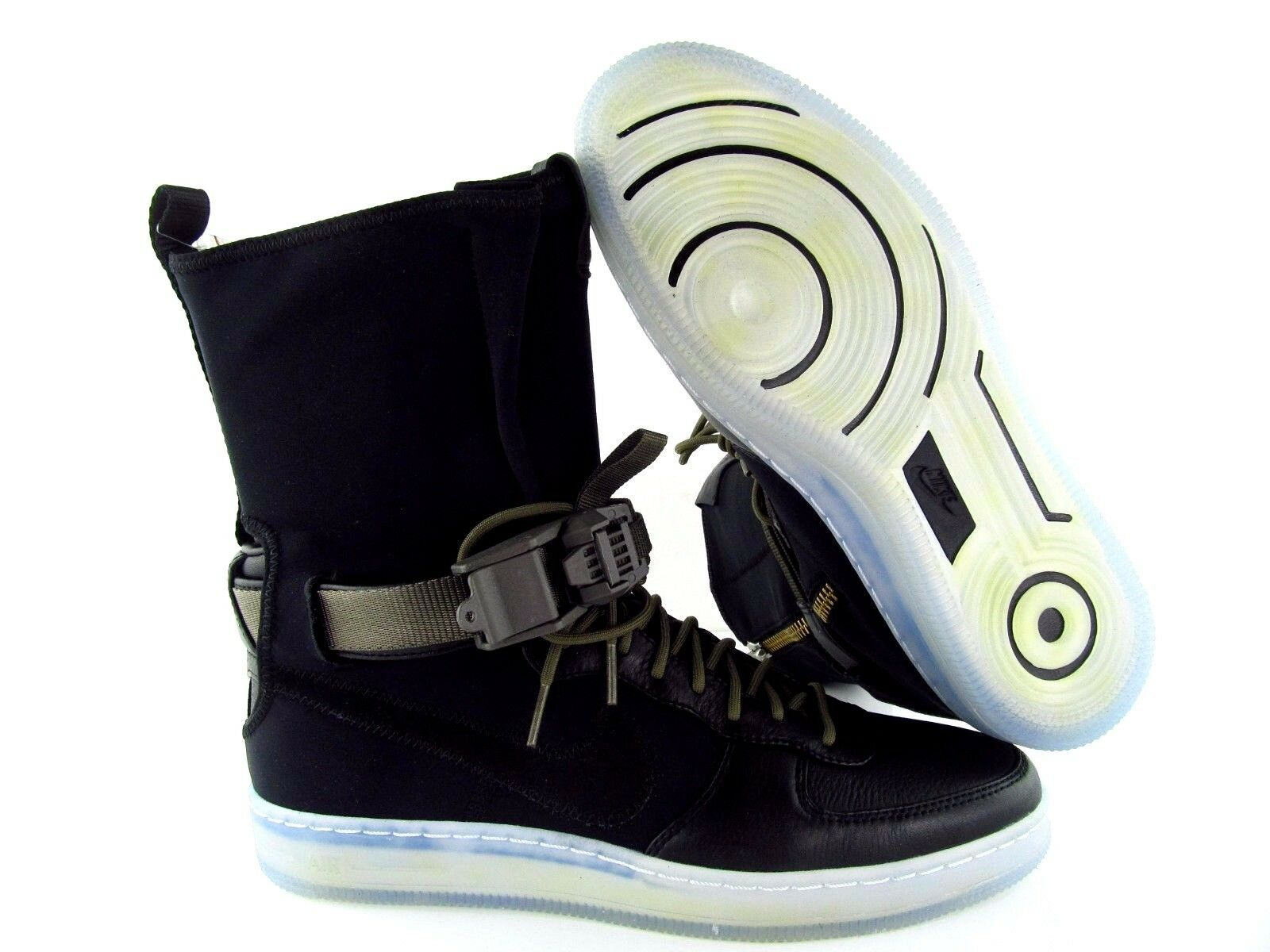 Nike Downtown Air Force 1 AF1 Downtown Nike HI SP / Acronym Black Olive UK_6 US_7 3e133e