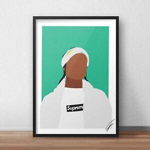 ASAP-Rocky-INSPIRED-WALL-ART-Print-Poster-Minimal-A4-A3-HIP-HOP-RAP-Live-Love