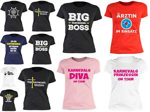 Details Zu Cooles Damen Karnevalshirt Fasching Sprüche T Shirt Für Freche Frauen Mädchen