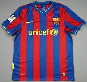 on sale 218f5 08931 Details about MINT FC BARCELONA 2009/10 Home M medium Football Shirt Jersey  Camiseta Trikot