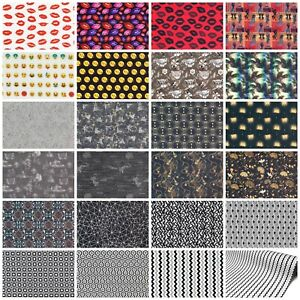 100% Baumwolle Baumwoll Stoff Digitaldruck Bekleidung Patchwork Deko Mundschutz