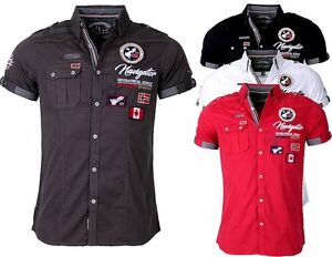 2fe5bd63 Image is loading Geographical-Norway-Men-039-s-Shirt-short-Sleeves-