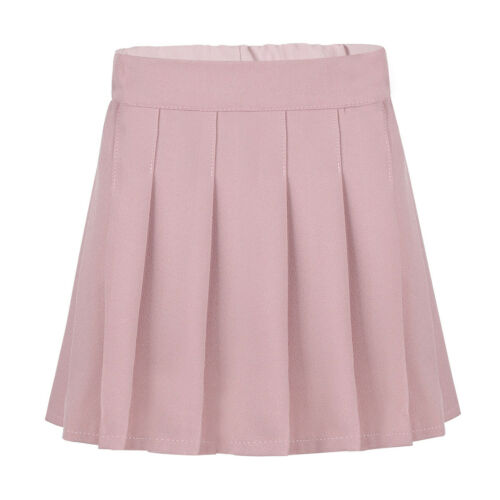 Kid School Wear Jumper Dress Girl Uniform Pinafore Pleated Scooter Skirt Costume