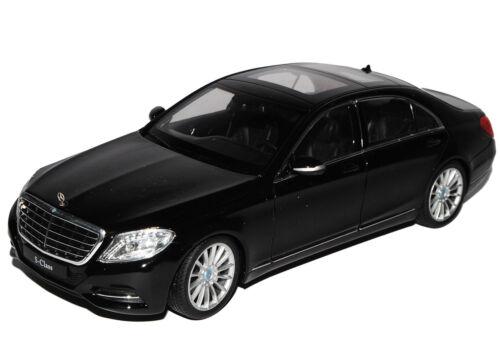 MERCEDES-BENZ CLASSE S w222 nero limousine a partire dal 2013 1//24 Welly Auto Modello M.