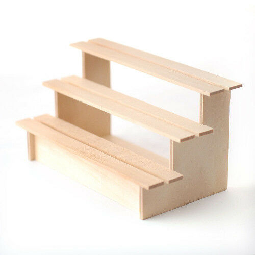 Sa-dollshouse bef136 Mensola VERDURE legno naturale scala 1 12 12 12 7a4f01