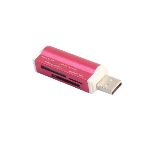 5in1 USB 2.0 Speicherkartenleser Stick Kartenlesegerät für SD SDHC TF MMC