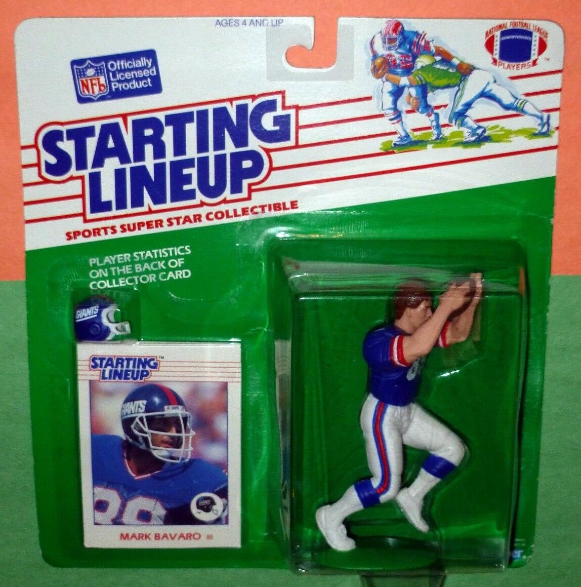 1988 MARK BAVARO nuovo York Giants  Rookie  gratuito s h  estrellating Lineup  più ordine