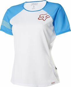 pretty cool cost charm official Fox Racing Womens Ripley s/s Jersey Blue | eBay